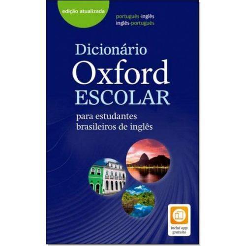 Dicionário Oxford Escolar para Estudantes Brasieleiros de Inglês