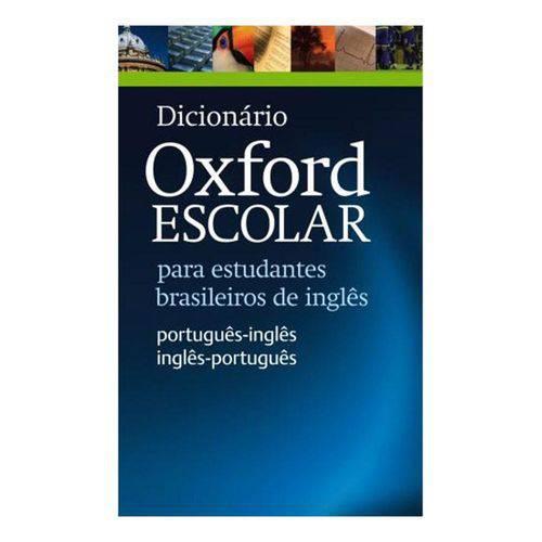 Dicionário Oxford Escolar para Estudantes Brasileiros de Inglês Nova Ortografia