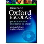 Dicionário Oxford Escolar para Estudantes Brasileiros de Inglês - With Cd - Rom