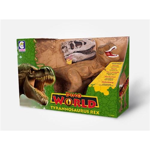 Tudo sobre 'Dino World Tiranossauro Rex Cotiplas'