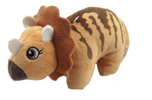 Tudo sobre 'Dinossauro de Pelúcia Baby Bege 22 Cm'