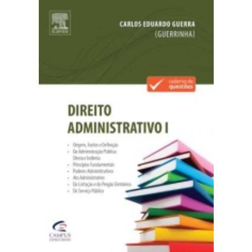 Direito Administrativo I - Nova Versao - Campus