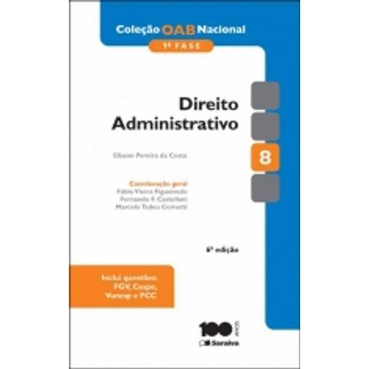 Direito Administrativo - Oab 1f Vol 8 - Saraiva