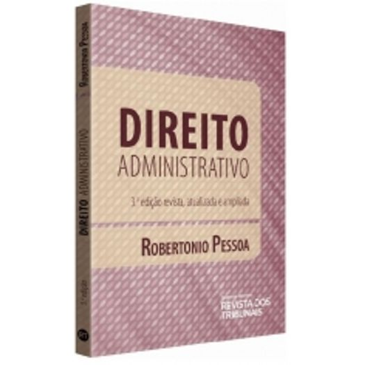 Direito Administrativo - Pessoa - Rt