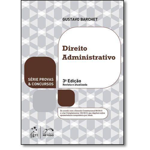 Direito Administrativo - Série Provas Concursos