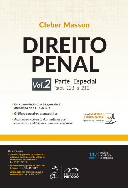 Direito Penal - Parte Especial - Vol.02 - 11Ed/18 - Metodo Editora