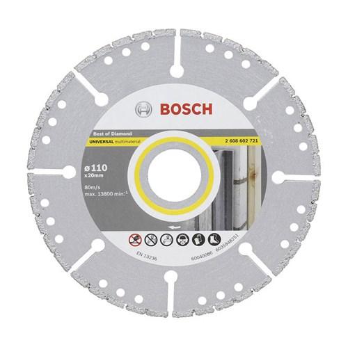 Disco de Corte Diamantado Segmentado 110x20,00mm Bosch