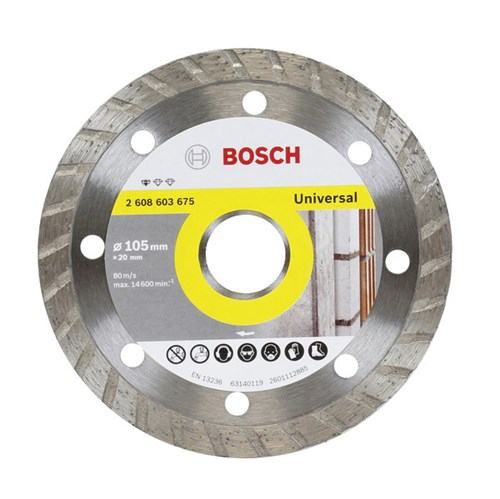 Disco de Corte Diamantado Turbo 105x20,00mm Bosch