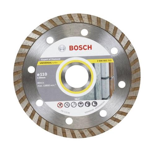 Disco de Corte Diamantado Turbo 110x20,00mm Bosch