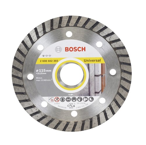 Disco de Corte Diamantado Turbo 115x22,23mm Bosch