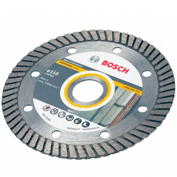 Disco Diamantado Turbo 110 Mm - Bosch