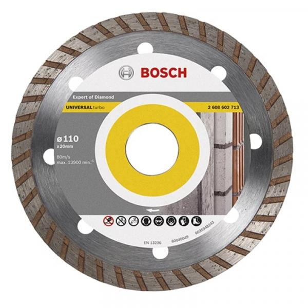 Disco Diamantado Turbo Universal 110 X 20mm 8mm 2608602713 - Bosch