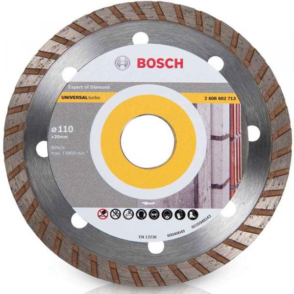 Disco Diamantado Universal 4.3/8 Turbo Bosch