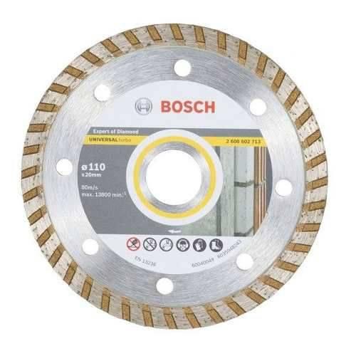 Disco Diamantado Universal Turbo 110 X 20 Mm Bosch