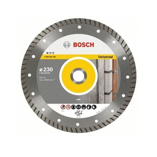 Disco Diamantado Universal Turbo Bosch 230mm