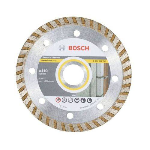 Disco Diamantado Universal Turbo Bosch 110mm