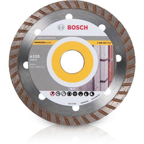 Disco Diamantado Up-Turbo 4' Referencia 2608.602.713.000 110 X 20Mm - Bosch