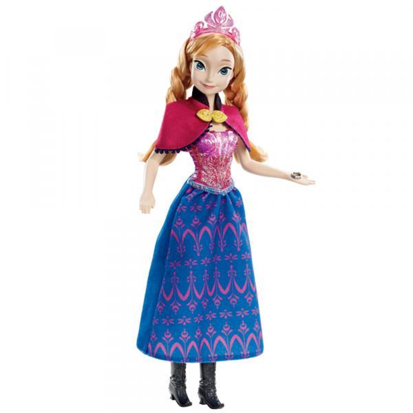 Disney Boneca Frozen Princesa Anna Musical - Mattel - Frozen