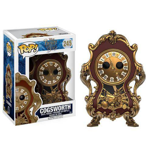 Tudo sobre 'Funko Pop! Disney: Beauty e The Beast - Cogsworth'