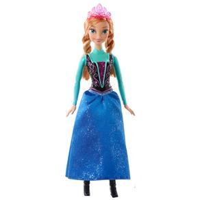 Disney Frozen Bonecas Brilhantes Anna