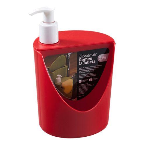 Tudo sobre 'Dispenser Coza RJ 600Ml Vermelho'