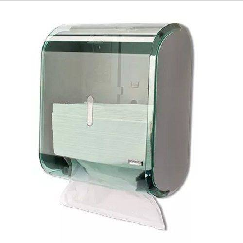 Dispenser Papel Toalha Interfolha - Verde Premisse C19282