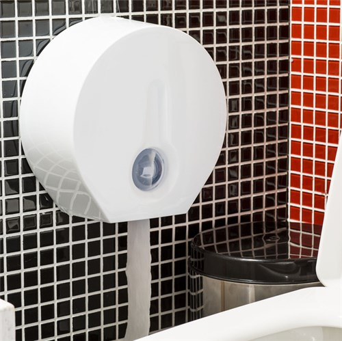 Dispenser para Papel Higiênico Rolo Plástico Primafer