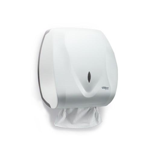 Dispenser para Papel Toalha Folha Plástico Velox Premisse