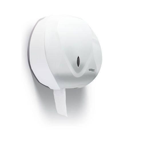 Dispenser Porta Papel Higiênico Rolão Premisse Velox Branco