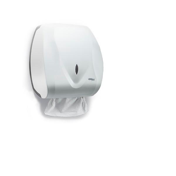 Dispenser Toalheiro Papel Toalha Velox Premisse Branco