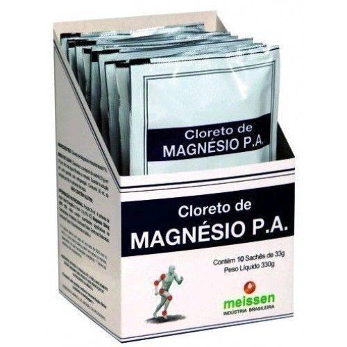 Display de Cloreto de Magnésio P.a 10 Sachês 33g