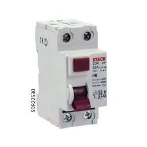 Dispositivo DR Bipolar 40A 30mA 6KA/ SDR-240-30 - Steck