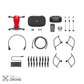 Tudo sobre 'DJI Mavic Air Flame Red Fly More Combo'