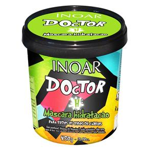 Doctor H Máscara de Hidratação Inoar - Máscara Hidratante - 450g