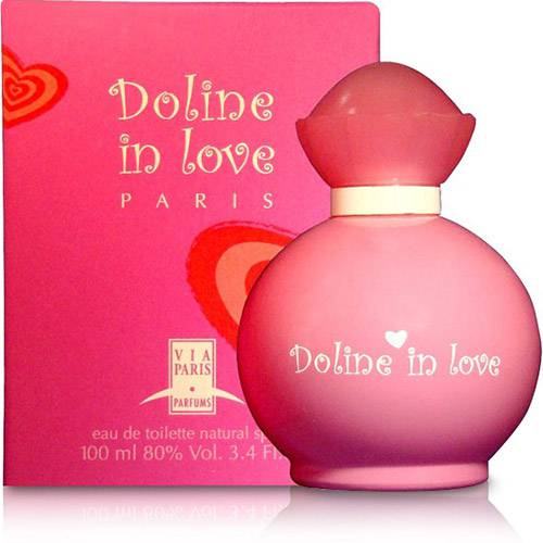 Tudo sobre 'Doline In Love Feminino Eau de Toilette 100ml - Via Paris'