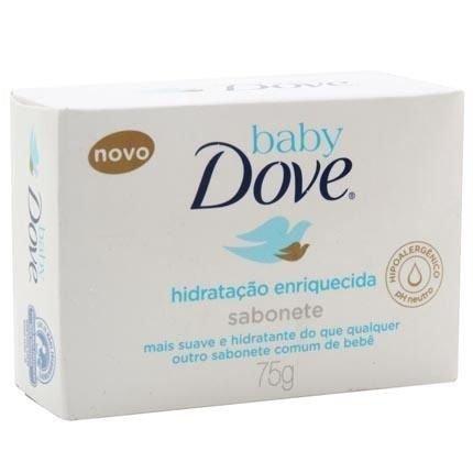 Dove Baby Hidratação Enriquecida Sabonete 75g
