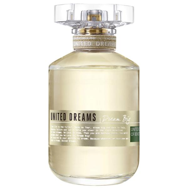 Dream Big Benetton Eau de Toilette - Perfume Feminino 80ml