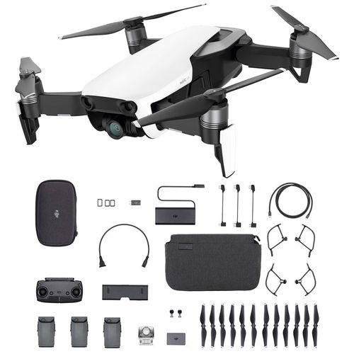 Drone Dji Mavic Air Combo Fly More 4k (artic White) - Homologado Anatel