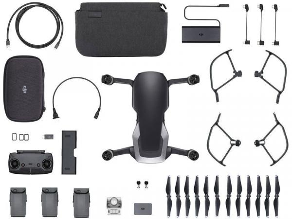 Drone DJI Mavic AIR FLY More Combo ONYX BLACK CP.PT.00000155.01