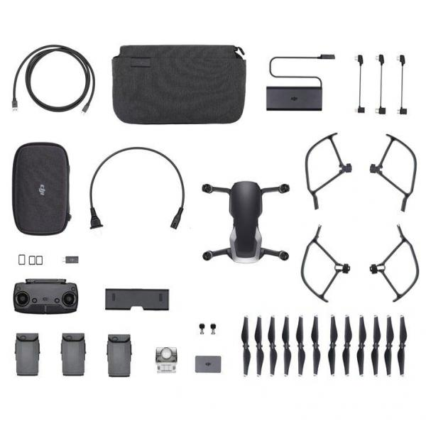 Drone DJI Mavic Air Fly More Combo, Preto