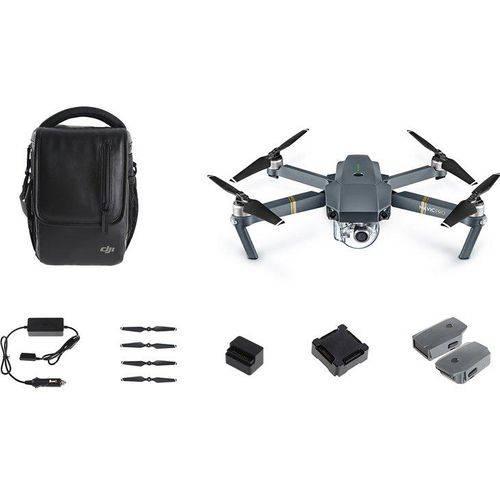 Drone DJI Mavic Pro Combo Fly More, Wi-Fi, GPS, Controle Remoto e Bolsa