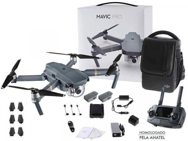 Drone DJI Mavic Pro Fly More Combo - Cp.pt.000648