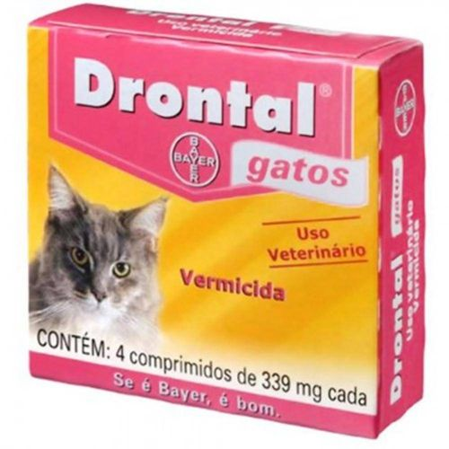 Drontal Gatos 4 Comprimidos