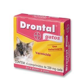 Drontal Gatos com 04 Comprimidos