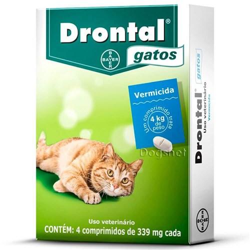 Drontal Gatos - Vermífugo