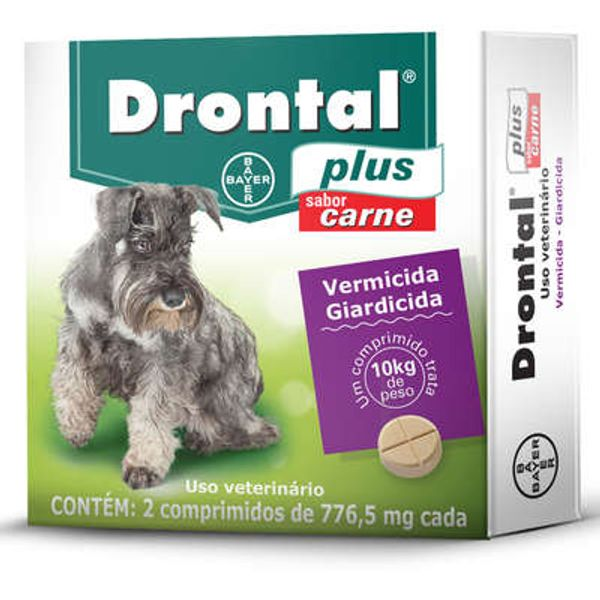 Drontal Plus 776,5 Mg - 2 Comprimidos