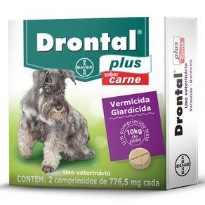 Tudo sobre 'Drontal Plus Carne 10kg 2 Comp'