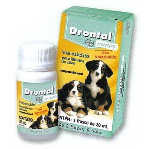 Tudo sobre 'Drontal Puppy 20ml'
