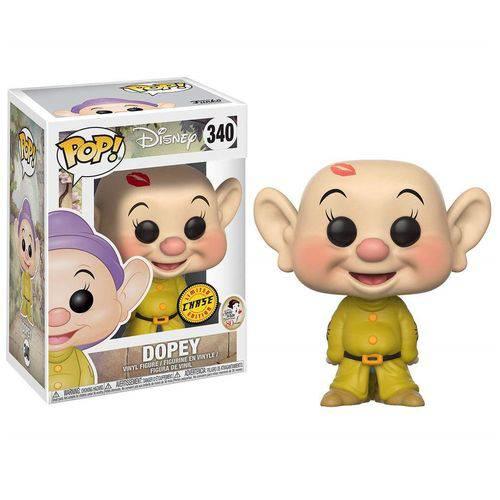 Dunga - Dopey - Pop! - Disney - Snow White - 340 - Funko - Chase