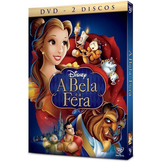 Tudo sobre 'DVD a Bela e a Fera (2 DVDs)'